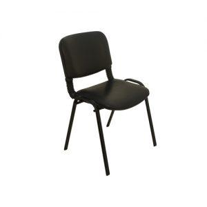 PİR2030-Siyah Bekleme Sandalye